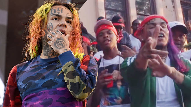 Tekashi 6ix9ine's music and lyrics will be used in court against two co-defendants