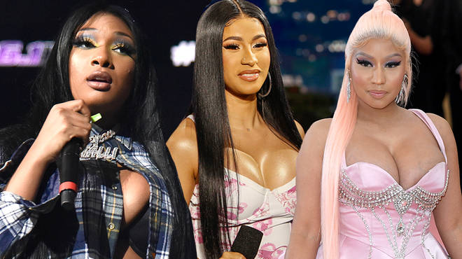 Megan Thee Stallion speaks on the infamous beef between rappers Nicki Minaj & Cardi B