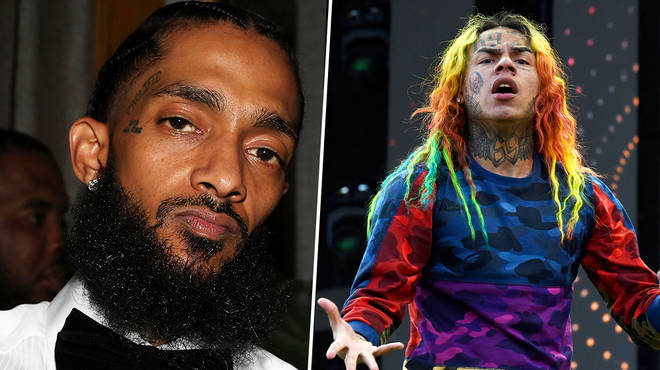 Nipsey Hussle throws shade at Tekashi 6ix9ine on newly released track off Rick Ross album
