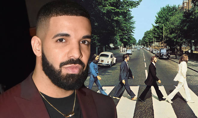 Drake threw shade at The Beatles after breaking their record of most songs simultaneously listed on the Billboard Hot 100's Top 10.