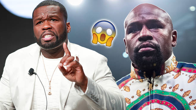50 Cent trolls Floyd Mayweather's reading skills on Twitter