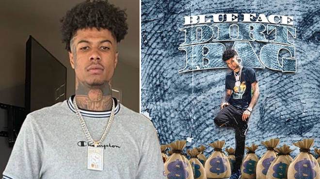 Blueface fans are convinced the rapper's name is spelt wrong on his EP artwork