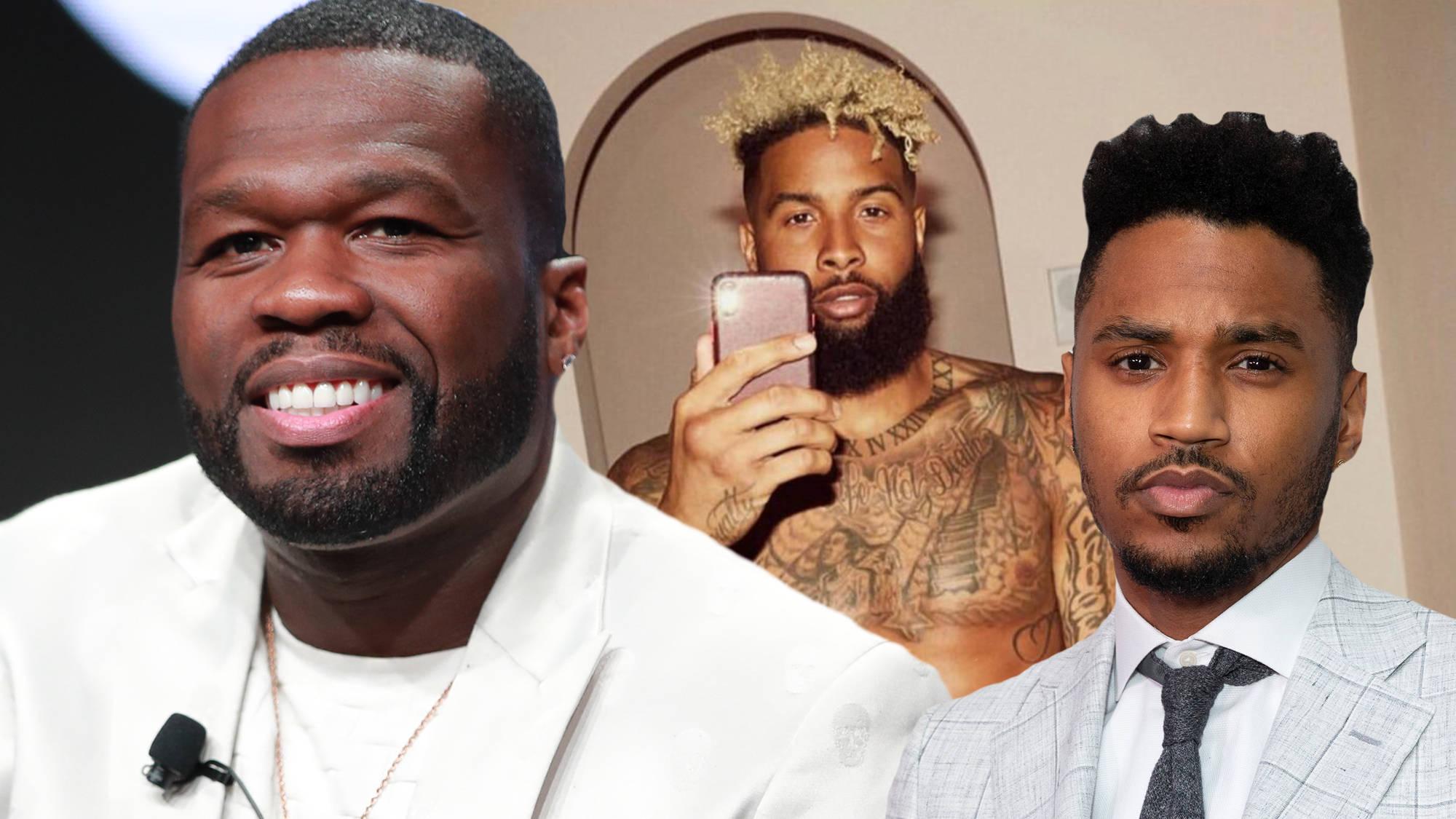 50 Cent Roasts Trey Songz Over Odell Beckham Jr.'s Thirst-Trap Underwear Photo