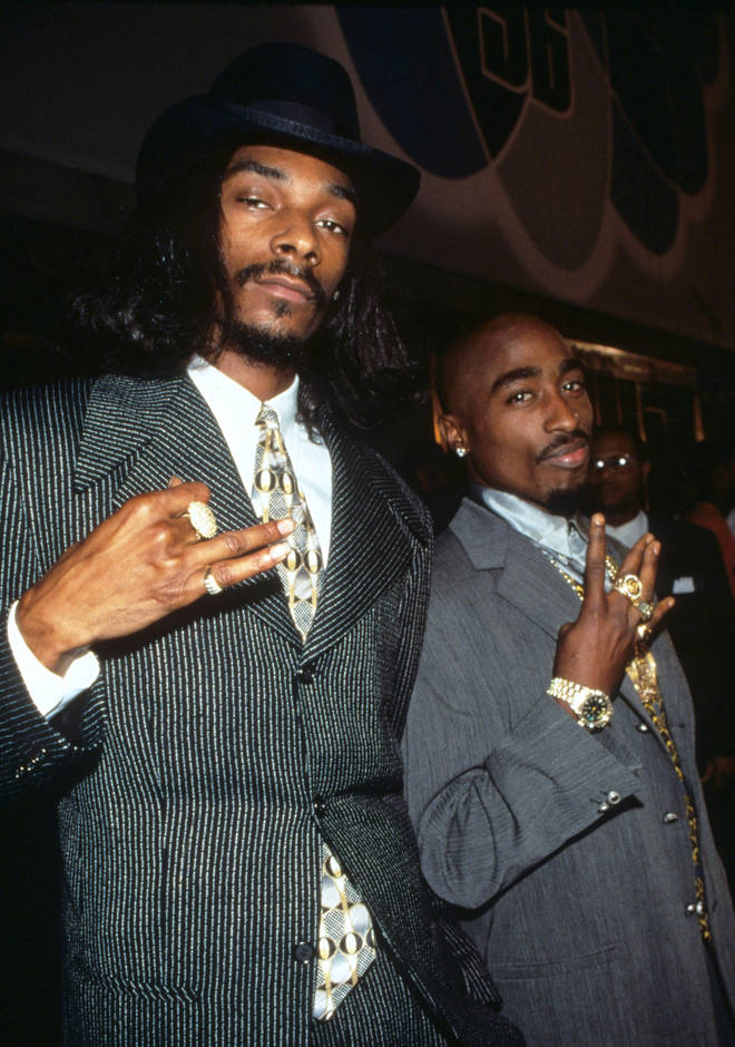 Snoop Dogg reflected on his friendship with fellow Death Row label mate Tupac Shakur