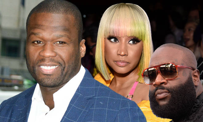 50 Cent got involved after Nicki Minaj called out Rick Ross for firing shots at her on 'Apple Of My Eye.'