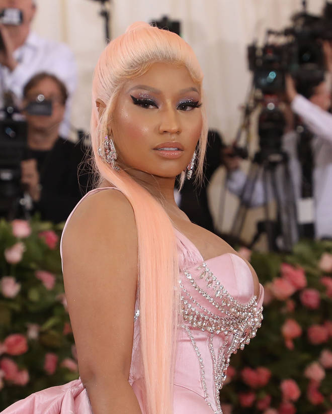 Earlier this week, Minaj slammed podcast host Joe Budden as well as rapper Rick Ross. (Pictured here at the Met Gala in May 2019.)