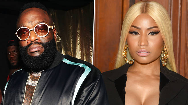 "Rick Ross speaks out after Nicki Minaj indirectly tells him to ""sit your fat ass down"""