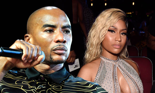 Charlamagne hit back at Nicki Minaj after she claimed she was 'banned' from 'The Breakfast Club.'