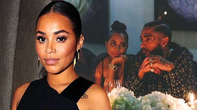 Lauren London posted an emotional tribute to her late partner, Nipsey Hussle.