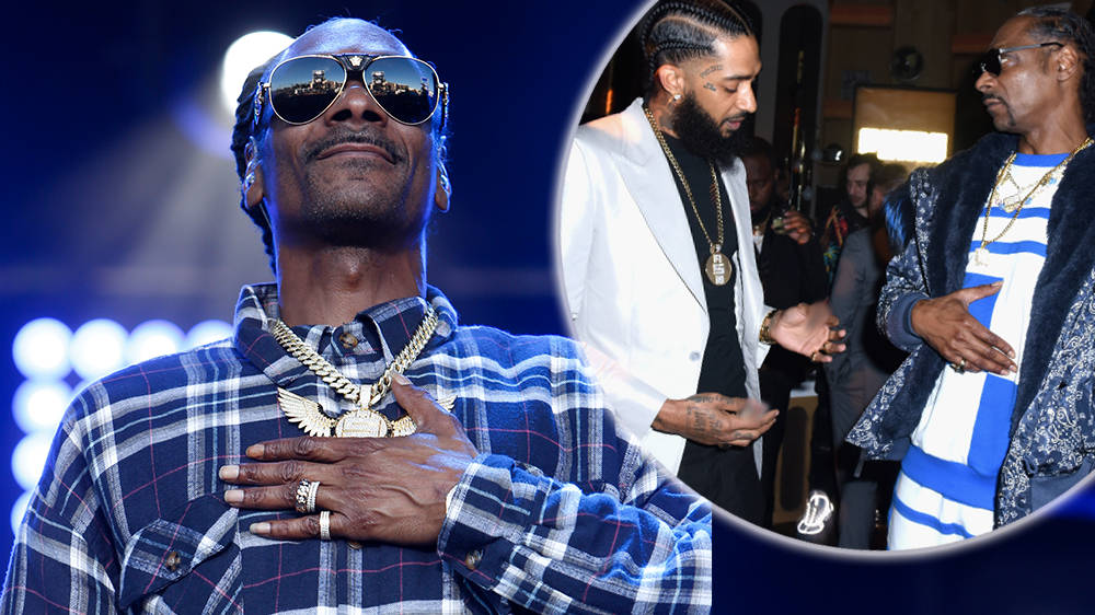 "Snoop Dogg Recalls The Final Time He Saw Nipsey Hussle As A ""Proud Uncle"" Moment"