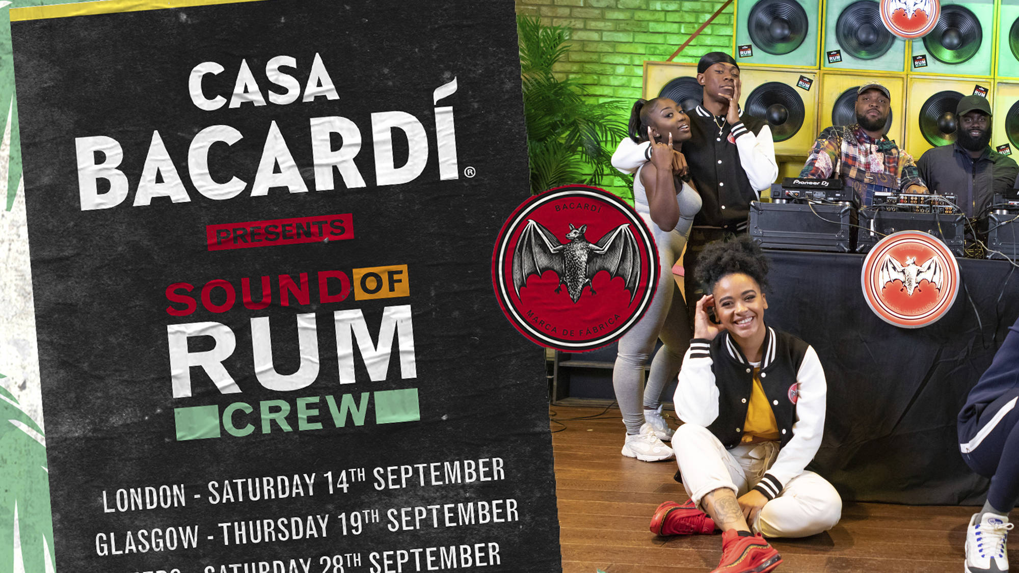 CASA BACARDÍ Presents Sound Of Rum Crew: Dates, Tickets, Lineup & More