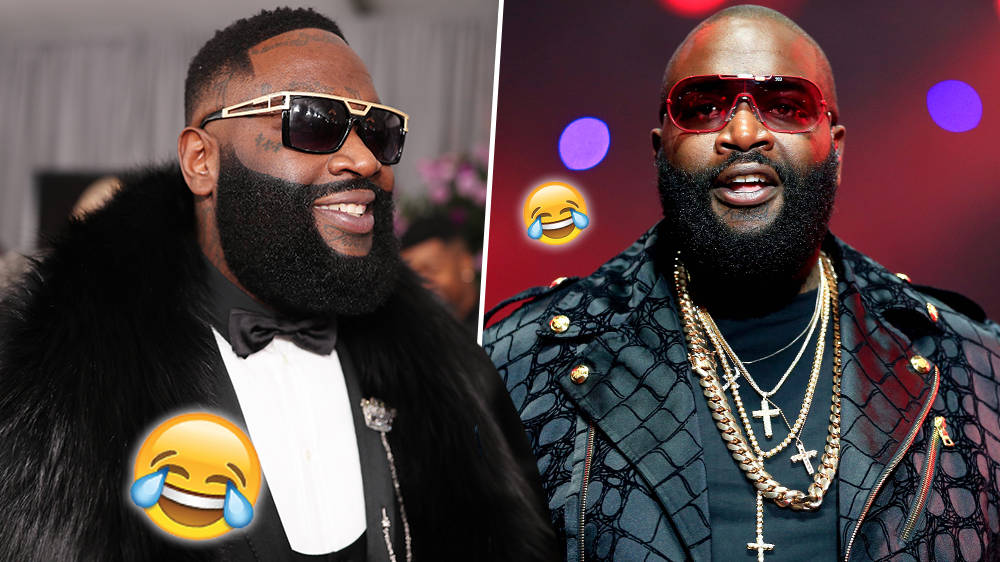 Rick Ross Fans React To 'Hilarious' Viral Video Of The Rapper Dancing - WATCH