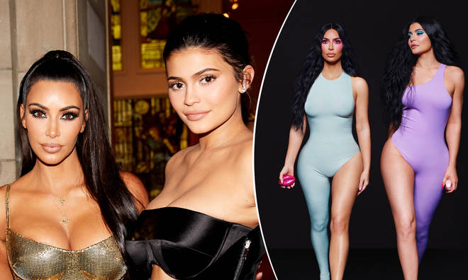 Kim Kardashian and Kylie Jenner sparked Photoshop rumours with their latest post.