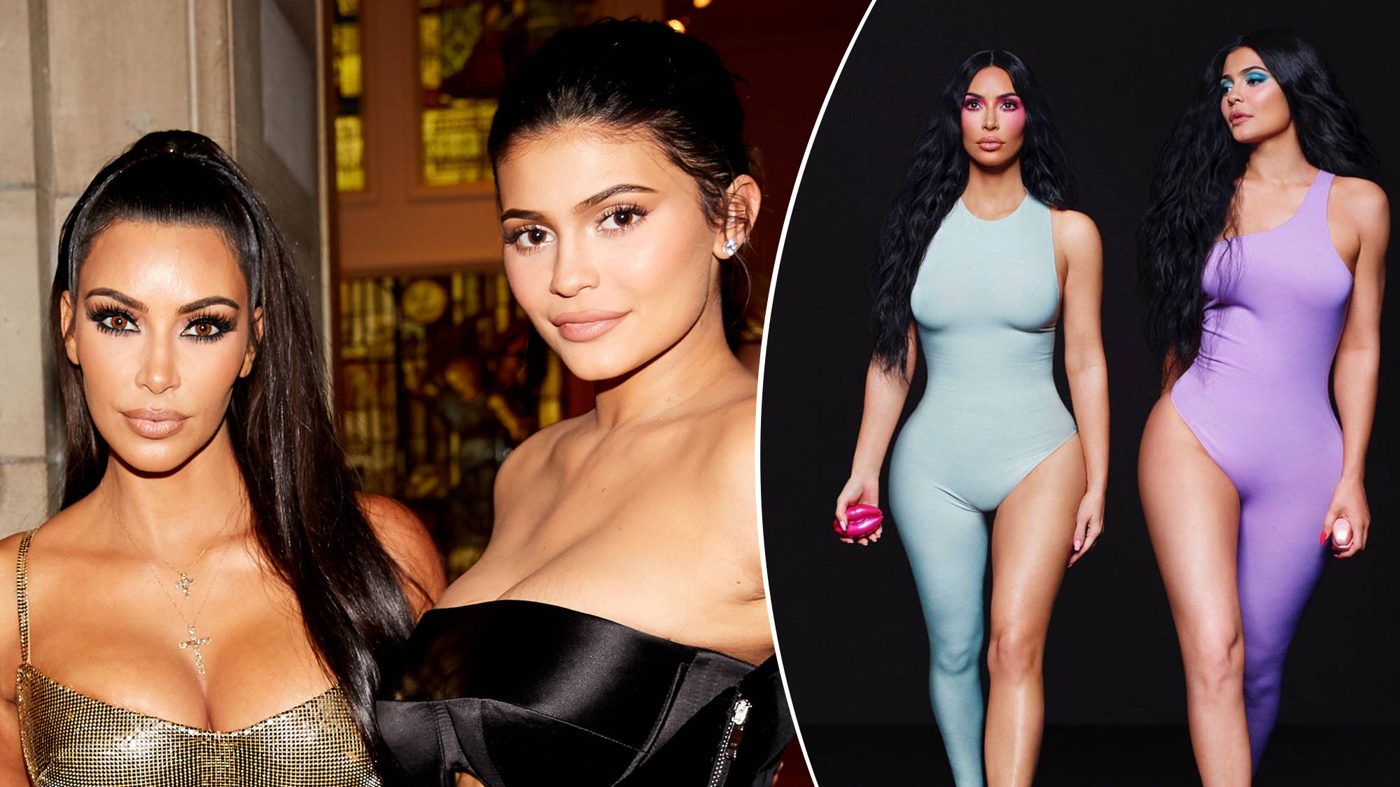 Kim Kardashian & Kylie Jenner Trolled After Photoshop Fail Leaves Them With 'Six Toes'