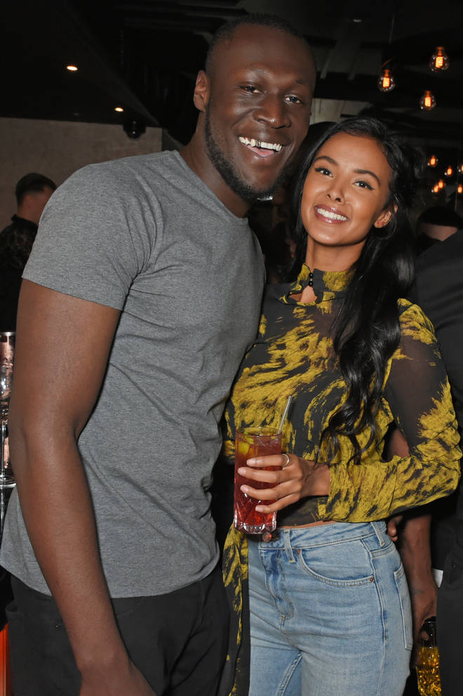 A representative for Maya confirmed her split with Stormzy. (The couple pictured here in December 2017.)