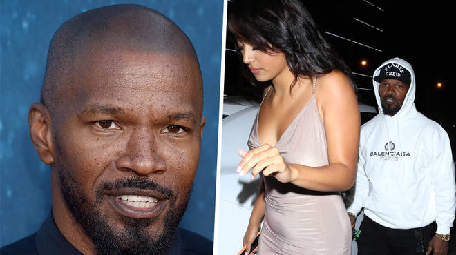 "Jamie Foxx has spoken out on the rumoured ""relationship"" between himself and singer Sela Vave"