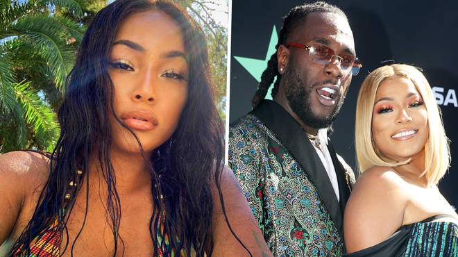 Stefflon Don takes to Instagram to address her & Burna Boy's alleged split