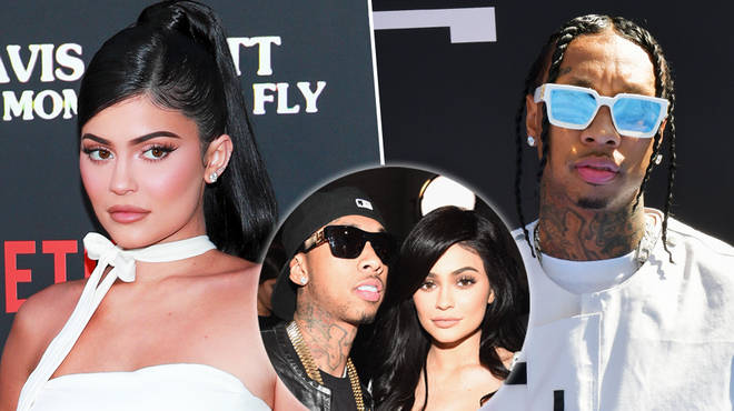 Kylie Jenner & Tyga have been spotted partying at the same nightclub in Las Vegas