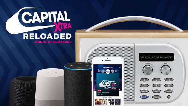 How To Listen To Capital XTRA Reloaded On DAB, GlobalPlayer