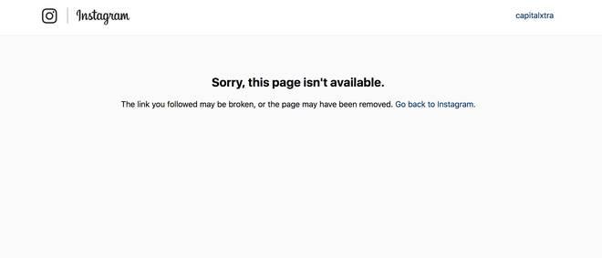 Digga D's Instagram account has been removed