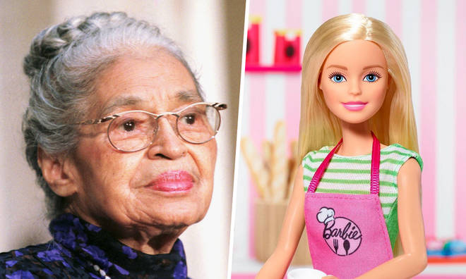Barbie have created a Rosa Parks doll