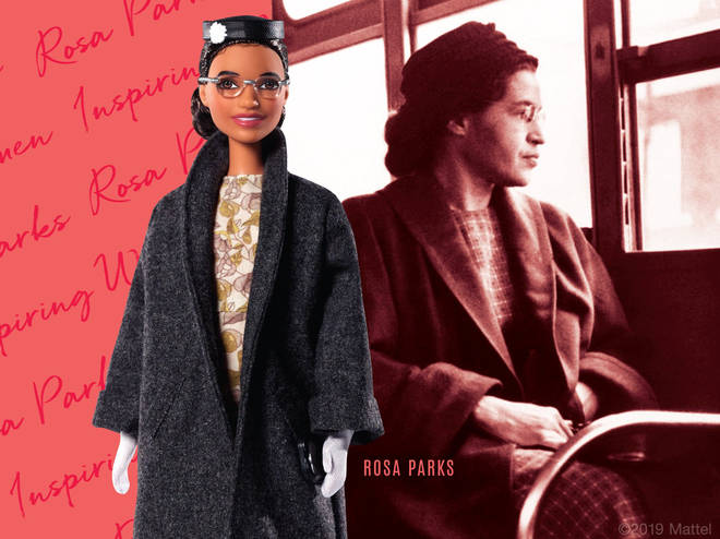 Rosa Parks doll by Barbie