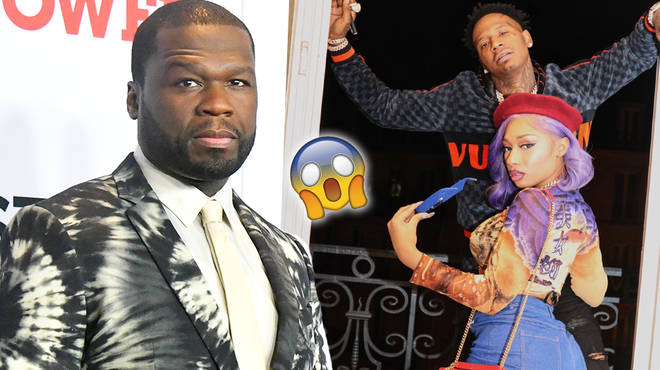 50 Cent has backed down after MoneyBagg Yo Defends His Girlfriend Megan Thee Stallion