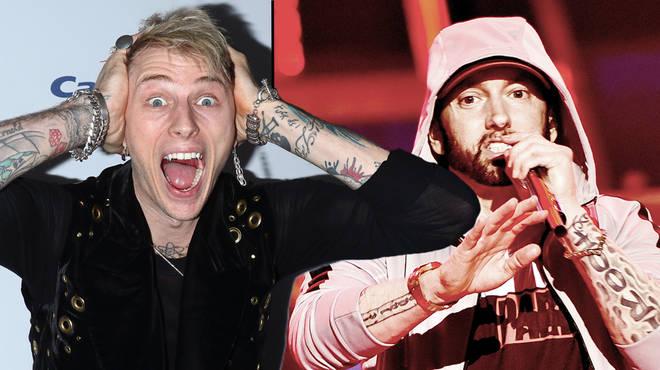 Machine Gun Kelly Trolls Eminem AGAIN A Year On Since 'Rap Devil' Release