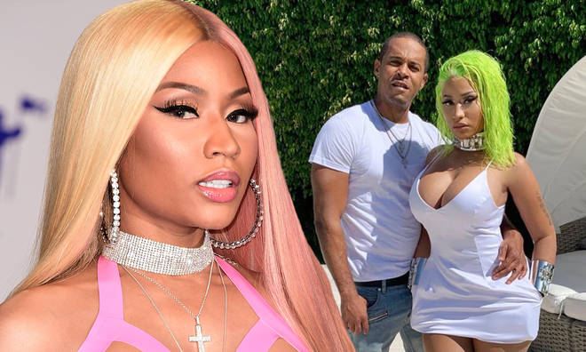 Kenneth Petty came under fire from Nicki Minaj's fans after they spotted gun hanging out of his pocket.