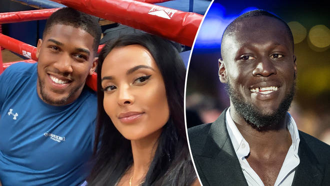 Anthony Joshua has addressed his selfie with Maya Jama following her split from Stormzy.