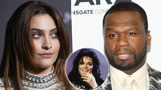 50 Cent gets grilled by Michael Jackson's daughter Paris over Chris Brown comments