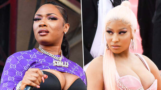 "Megan Thee Stallion responds to Nicki Minaj ""struggle twerking"" claims"