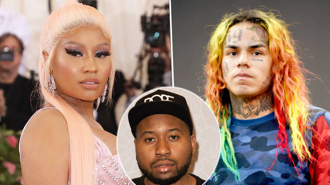 Nicki Minaj accuses DJ Akademiks of fancying Tekashi 6ix9ine