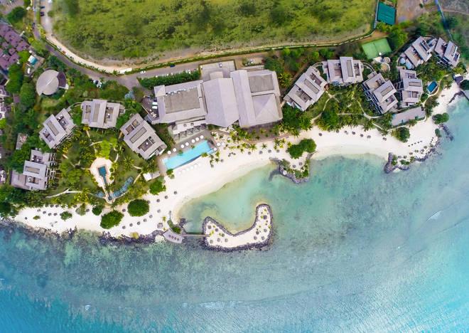 The InterContinental Resort in Mauritius.