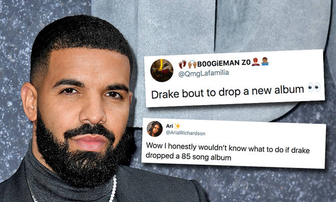Drake teases new 85 track album