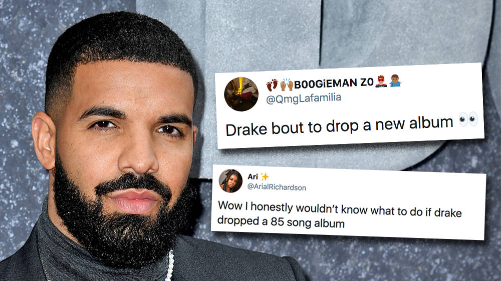 Drake Sparks New '85 Track Album' Rumours With Instagram Tease