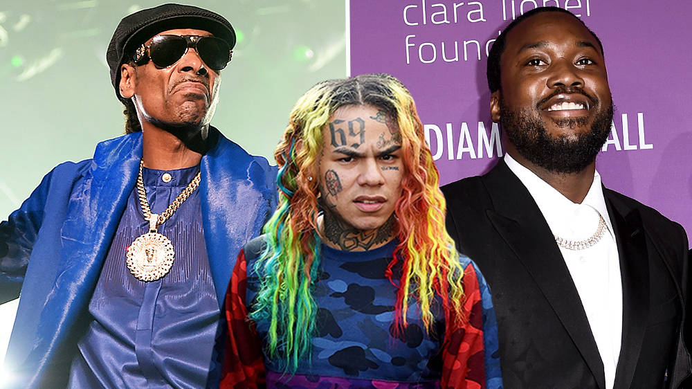 Tekashi 6ix9ine Brutally Trolled By Snoop Dogg And Meek Mill Over 'Snitch' Claims