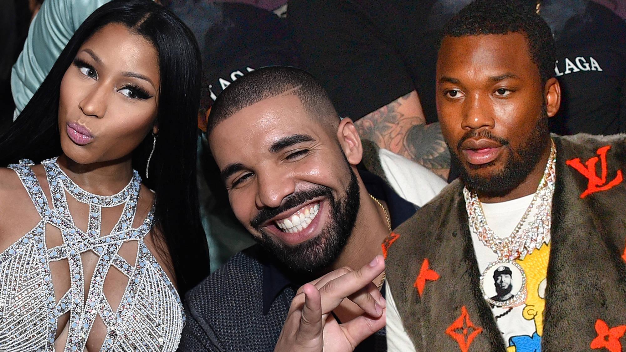 Nicki Minaj Accused Of Sparking Drake & Meek Mill Beef With One Savage Comment