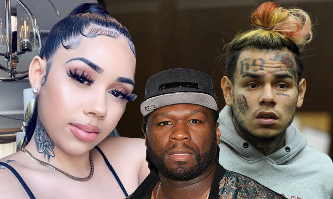 Sara Molina slammed 50 Cent following his comments about Tekashi 6ix9ine's former manager.