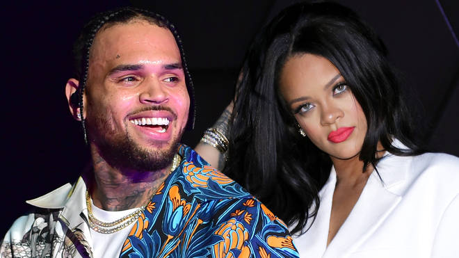Chris Brown is getting dragged for leaving a thirsty comment on Rihanna's latest steamy selfie.