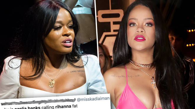 "Azealia Banks calls Rihanna ""fat and edgeless"" during Instagram rant"