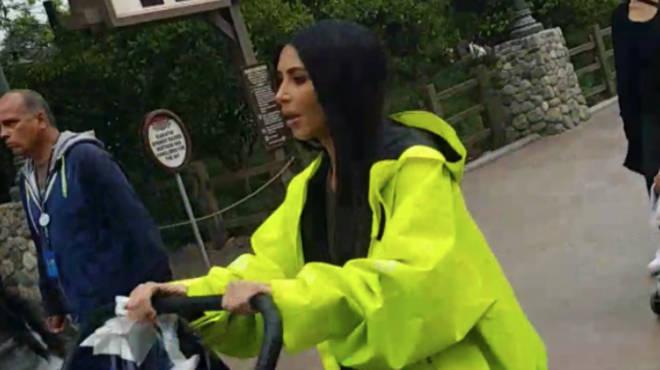 Kim Kardashian Disneyland