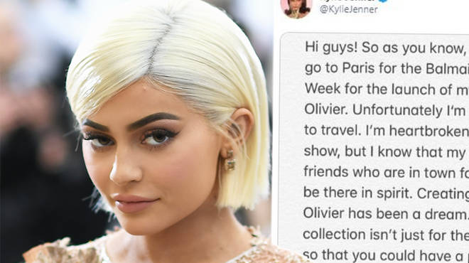 Kylie Jenner hospitalised with a intense flu