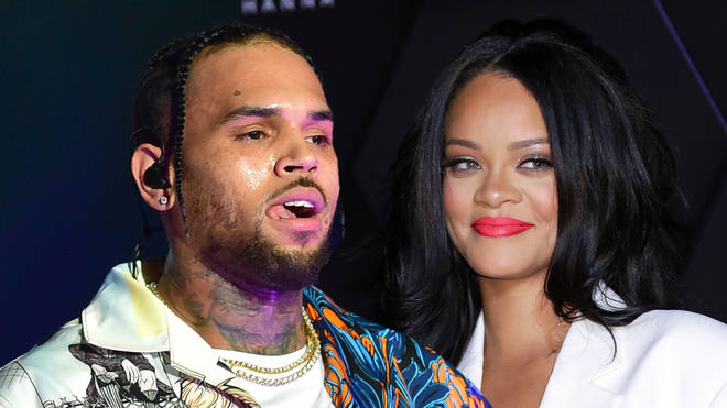 Chris Brown mocked himself over his recent thirsty comments aimed at Ammika and Rihanna.