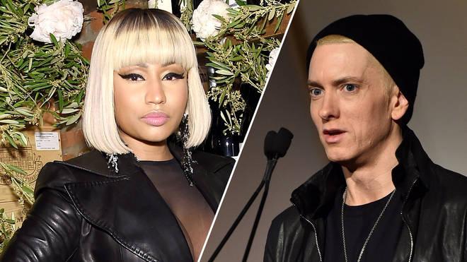 Nicki Minaj, Eminem.