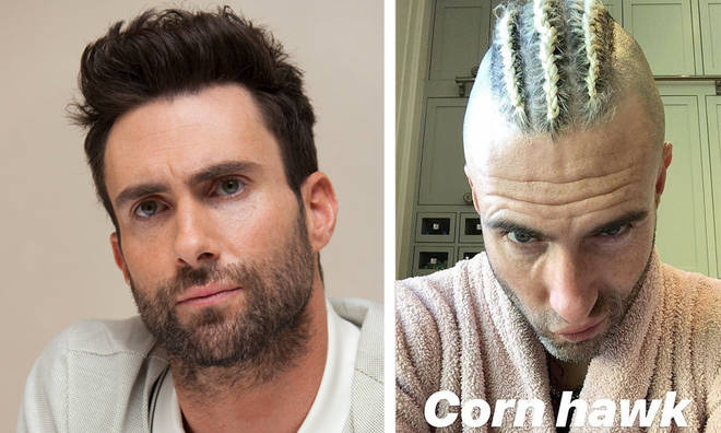 Adam Levine accused of cultural appropriation with new cornow hairstyle