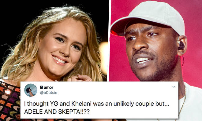 Adele and Skepta are rumoured to be dating