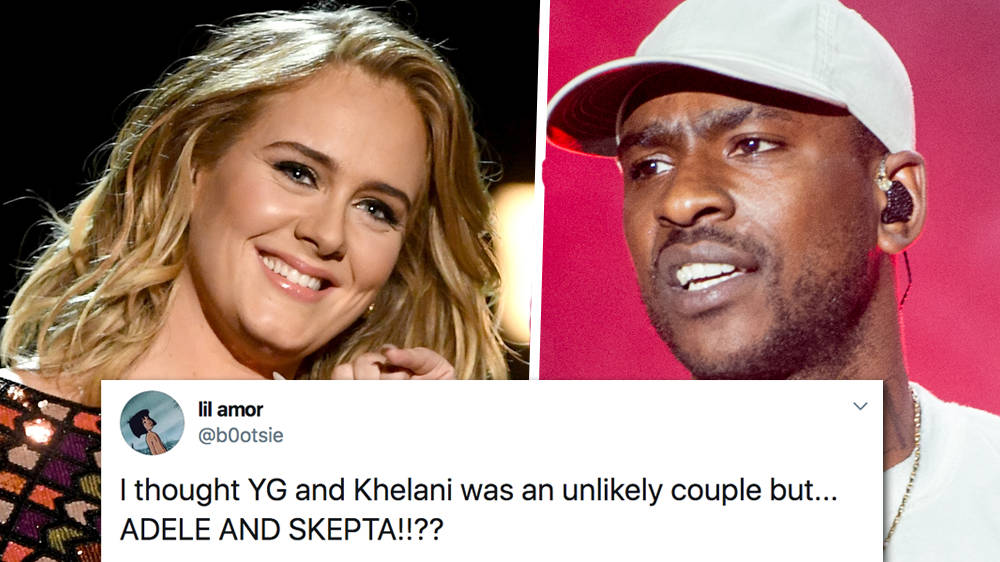 Skepta Adele Rumoured To Be Dating As They Share A Special Connection Capital Xtra