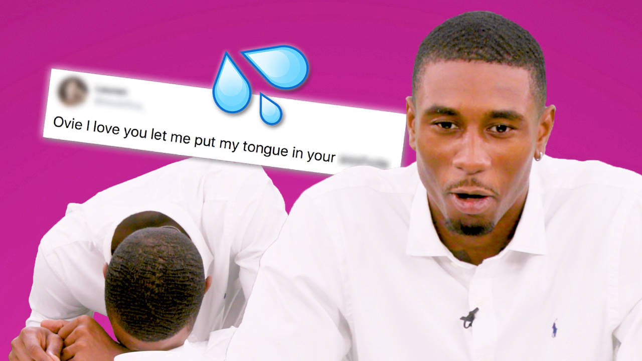 Love Island's Ovie Soko Reacts To Your Wildest Thirst Tweets