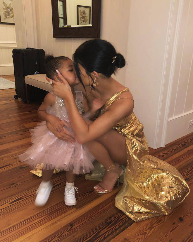 Kylie and Stormi attended Justin and Hailey Bieber's wedding in South Carolina without Travis.